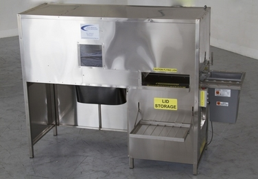 sharps automated tipper